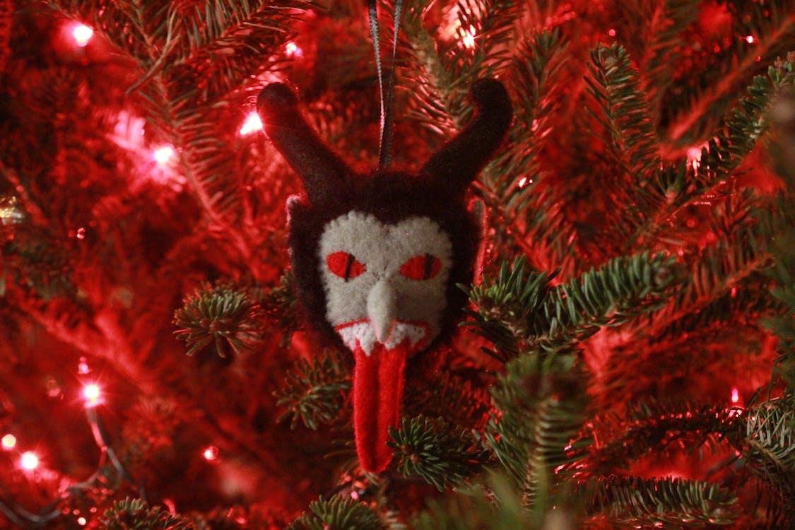 krampus, ornament, ozdoba