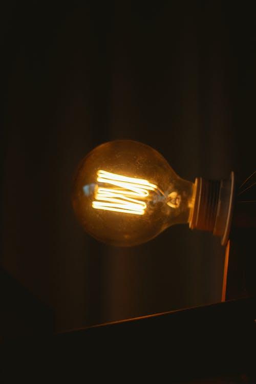 elettricità, idea, illuminato