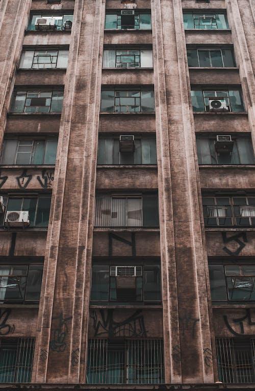 bakış açısı, bina, cephe, mimari içeren Ücretsiz stok fotoğraf
