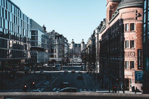 Free stock photo of city, scandinavia, stockholm, street