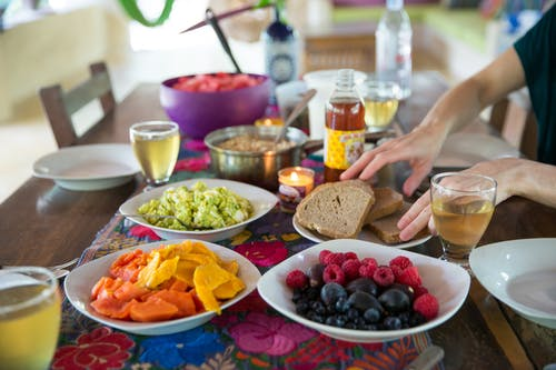 Free stock photo of bowl of fruit, breakfast, eating healthy, good health