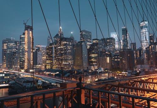 Foto profissional grátis de América, cânone, cidade, cidade de Nova Iorque