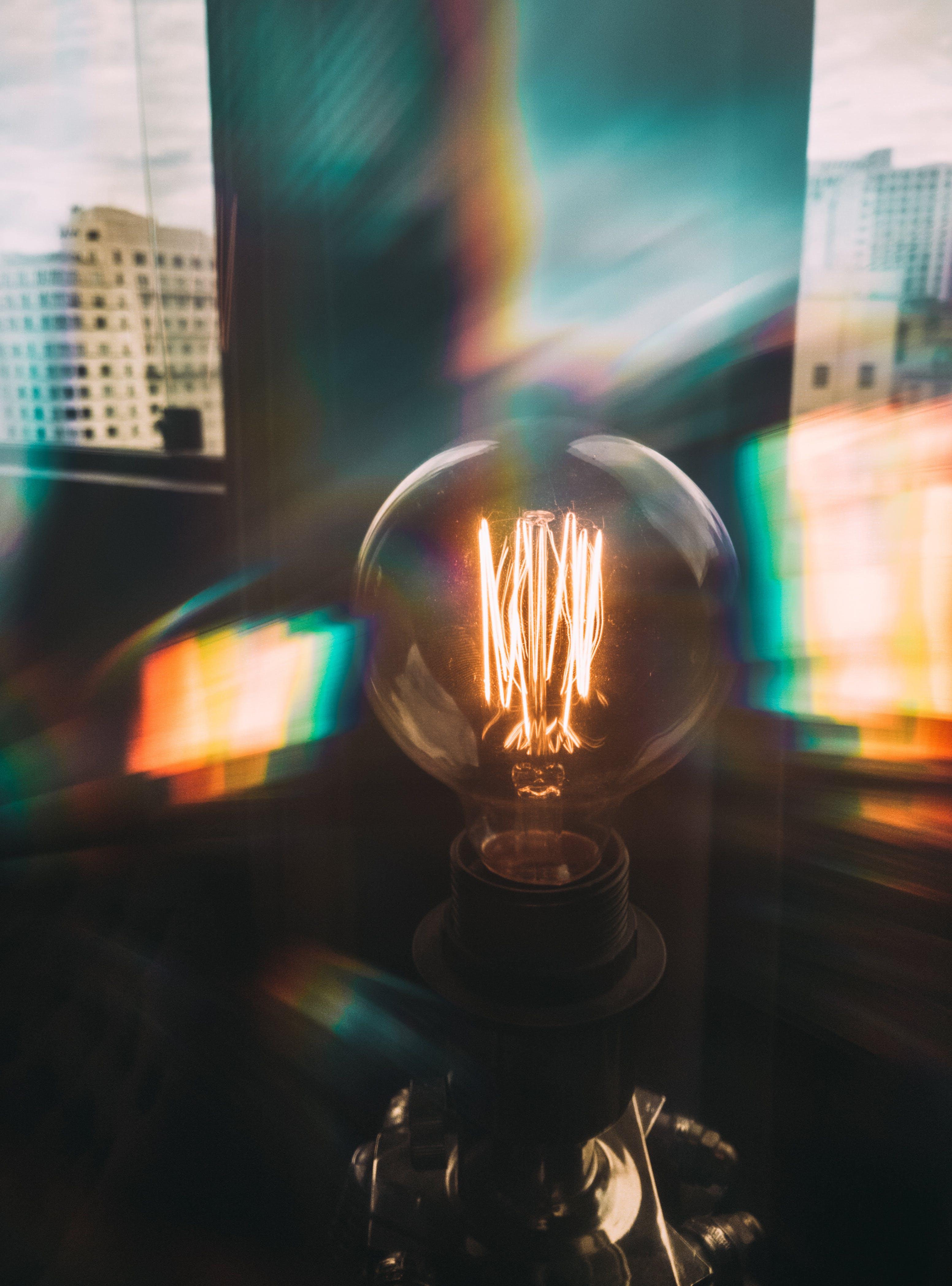 Fotos de stock gratuitas de bombilla, electricidad, iluminado, ligero