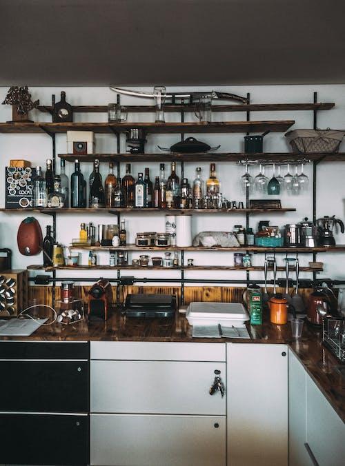 Fotobanka sbezplatnými fotkami na tému alkohol, bar, čepeľ, domáci interiér