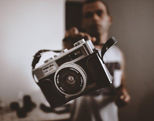 Gratis stockfoto met camera, cameralens, macro, retro