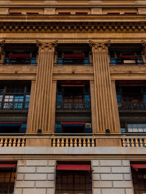 Základová fotografie zdarma na téma architektura, budova, fasáda, perspektiva