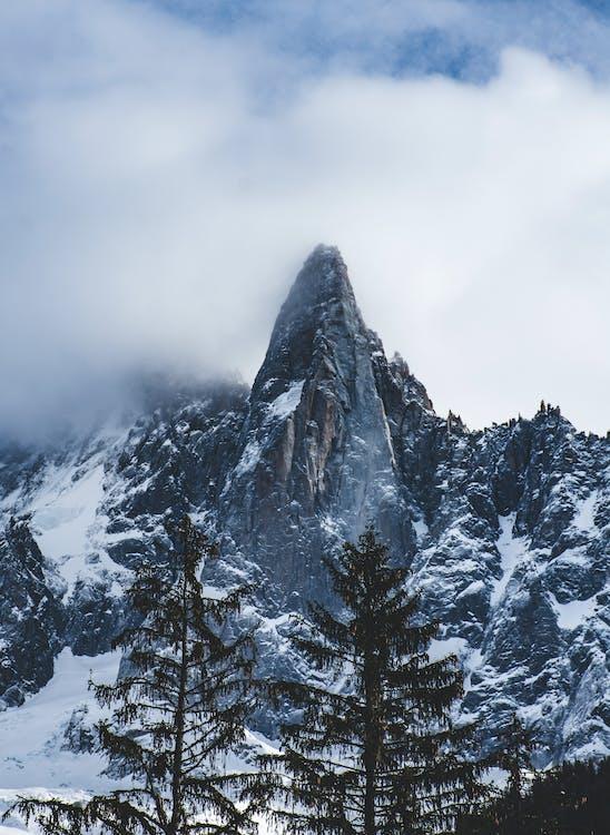 високий, гора, застуда