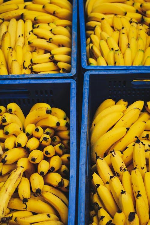 Fotobanka sbezplatnými fotkami na tému banány, chutný, jedlo, kytica
