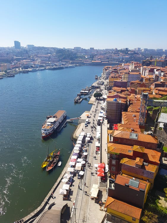 barcos, douro, margens