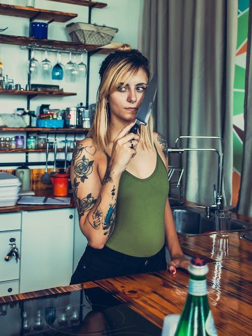 Foto profissional grátis de balcão, contador, cozinha, dentro de casa