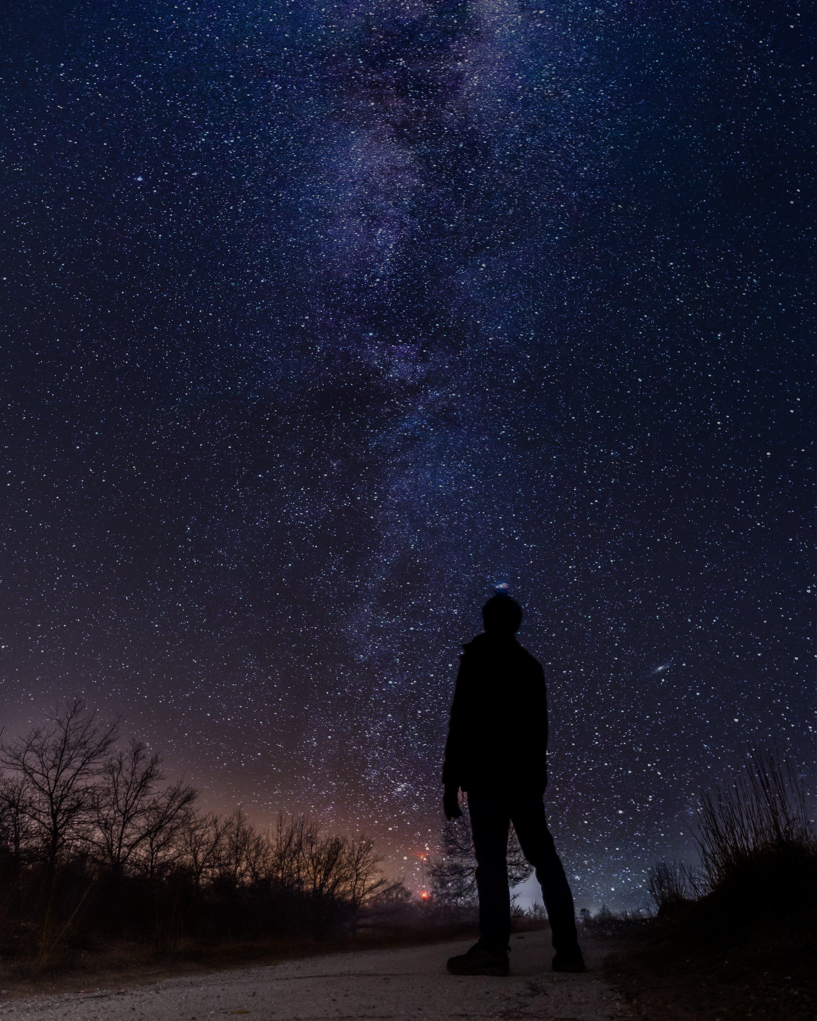 Ingyenes stockfotó celebek, éjszaka, galaxis, tejút témában
