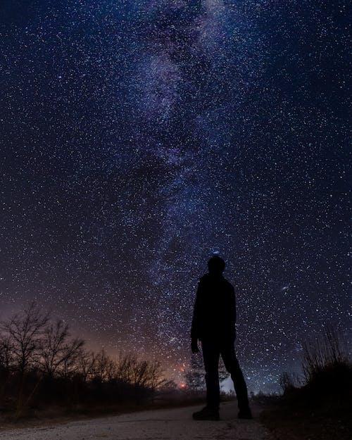 Бесплатное стоковое фото с galaxy, звезды, млечный путь, ночь