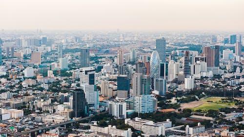Ilmainen kuvapankkikuva tunnisteilla ilmakuva, kaupunki, kaupunkimaisema, kaupunkinäkymä
