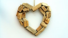 wood, love, art