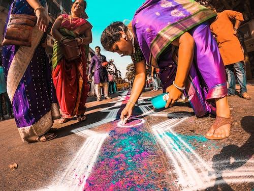 Foto profissional grátis de asiáticos, celebração, festival da índia, gudi padwa