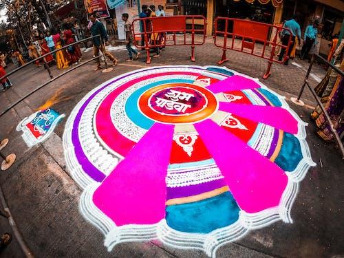 Foto profissional grátis de arte, festa, gudi padwa, Índia
