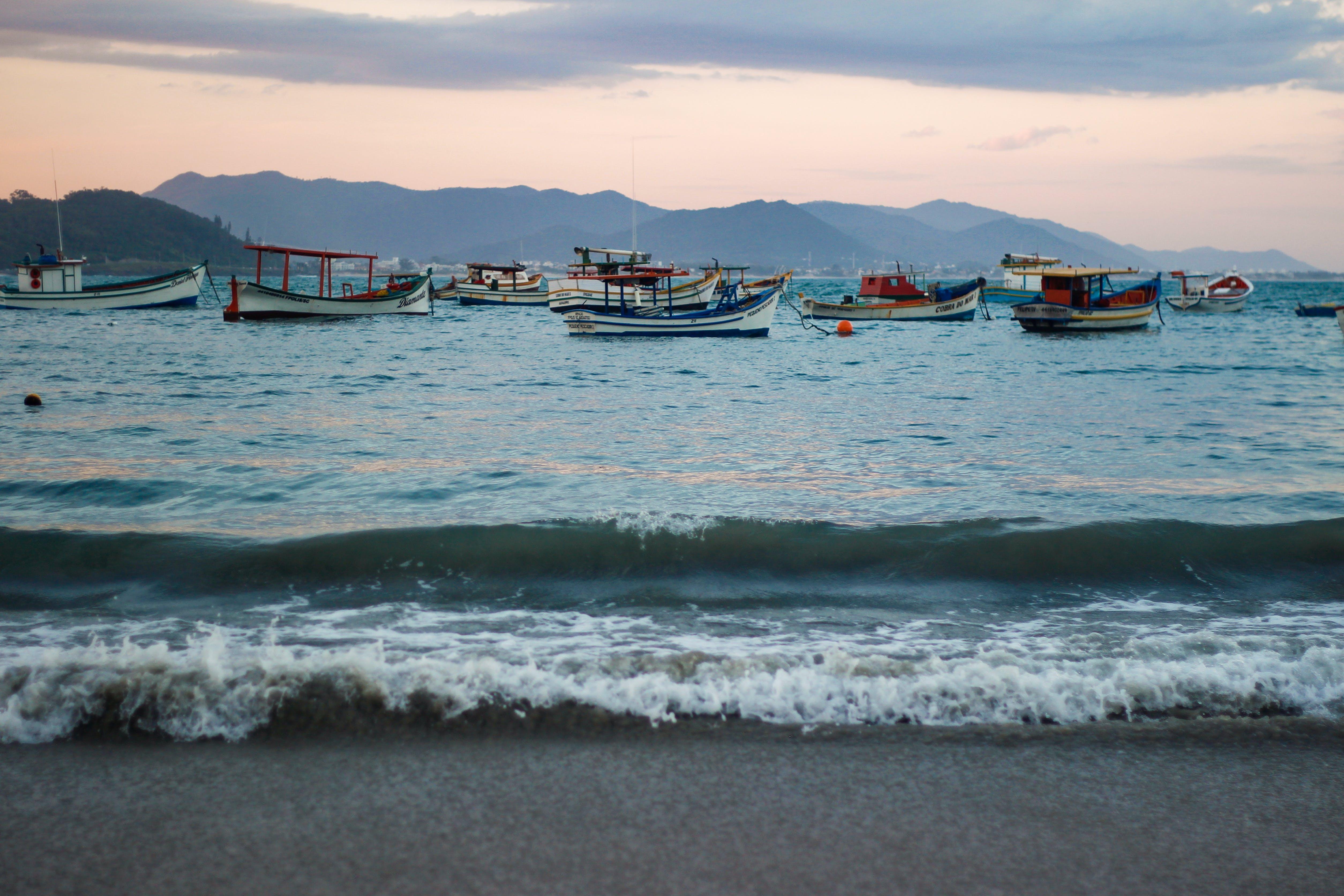 Free stock photo of beach, boats, brasil, brazil