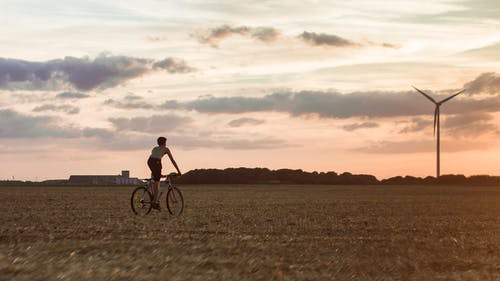 Бесплатное стоковое фото с активный отдых, альтернатива, Альтернативная энергия, велосипед