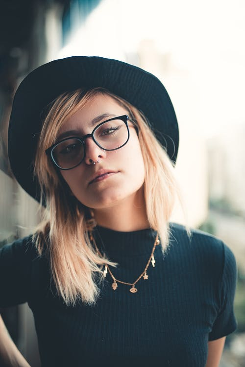 Women's Black Eyeglasses
