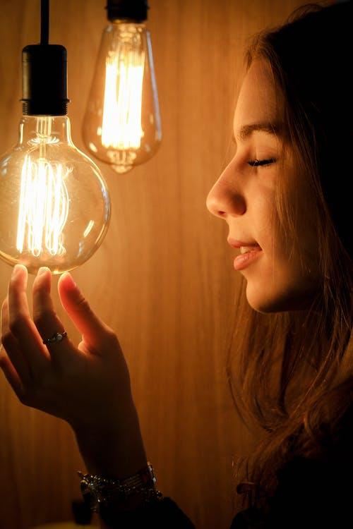 Photos gratuites de ampoules, brillant, concevoir, éblouissement