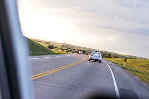 Kostenloses Stock Foto zu auto, himmel, reise, straße
