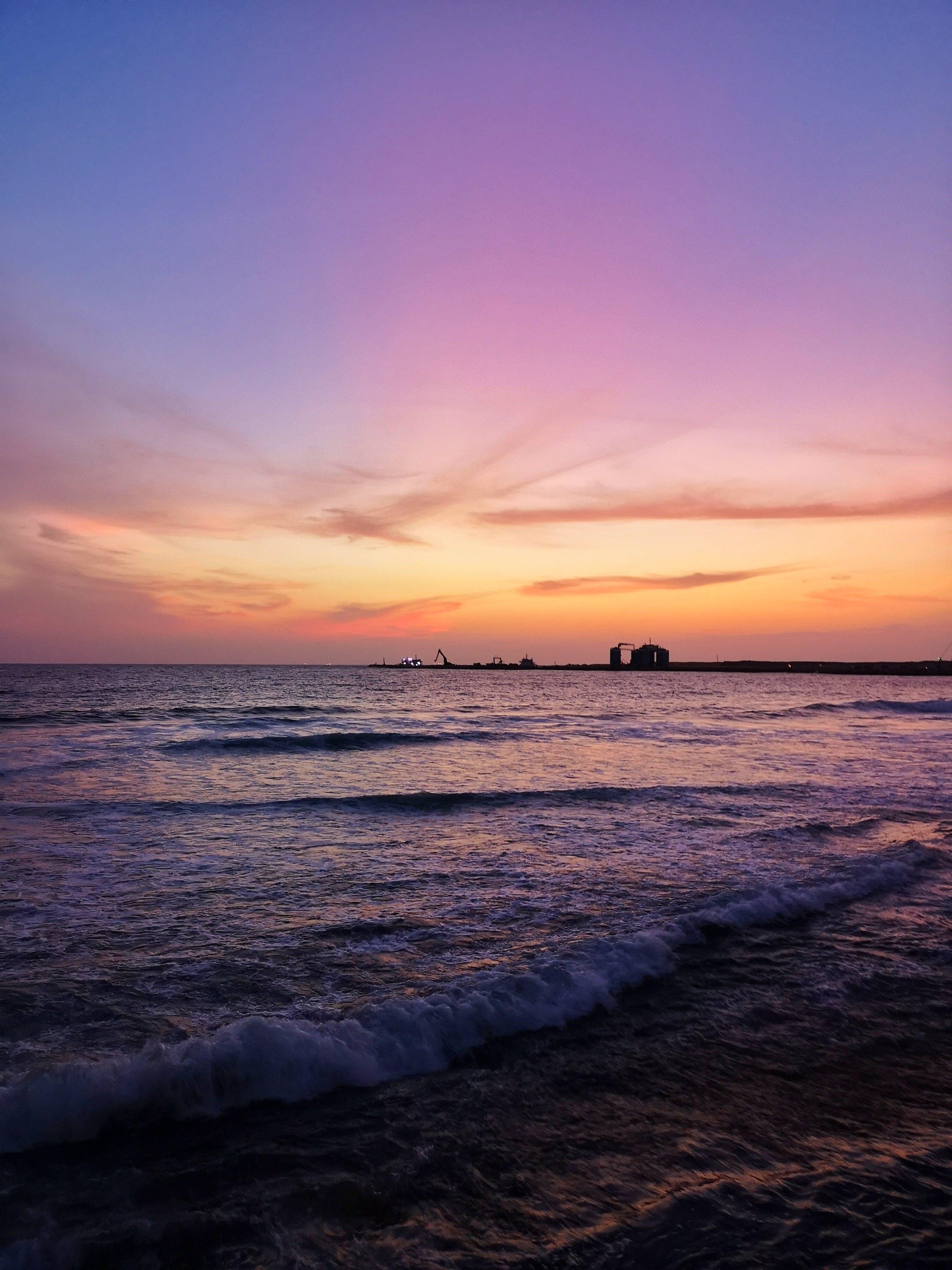 Gratis lagerfoto af bølger, fredelig, hav, havudsigt