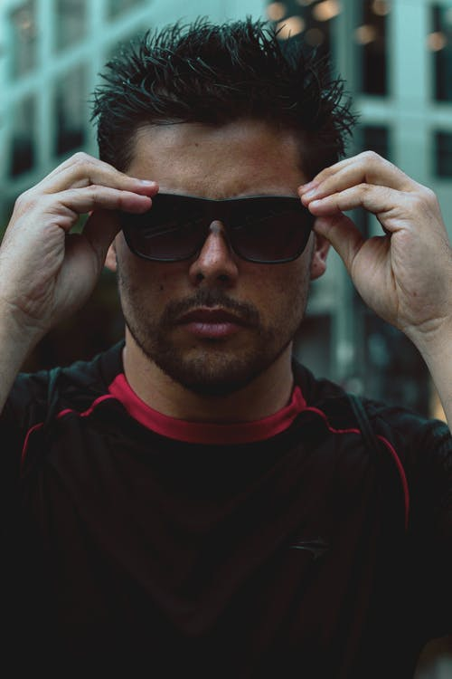 Photo of Man Wearing Sunglasses