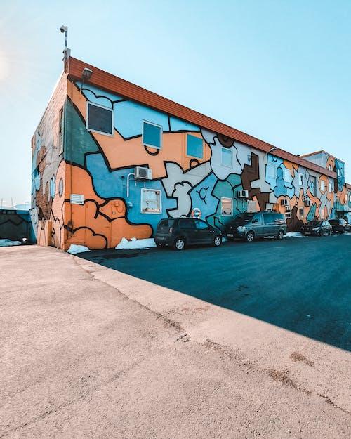 Darmowe zdjęcie z galerii z architektura, artystyczny, asfalt, biznes