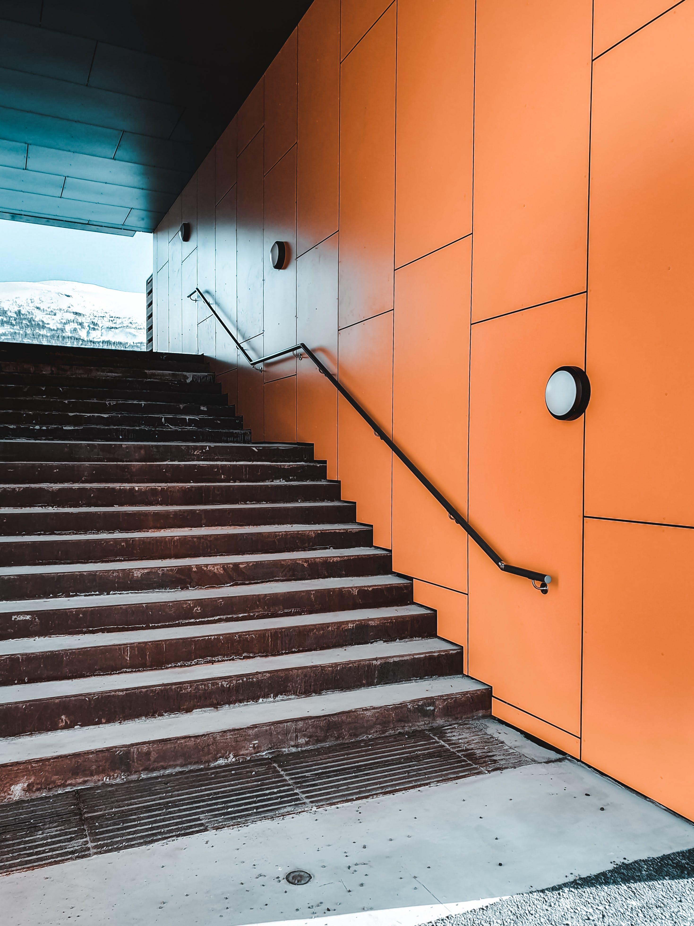 Бесплатное стоковое фото с архитектура, городской, дизайн, лестница