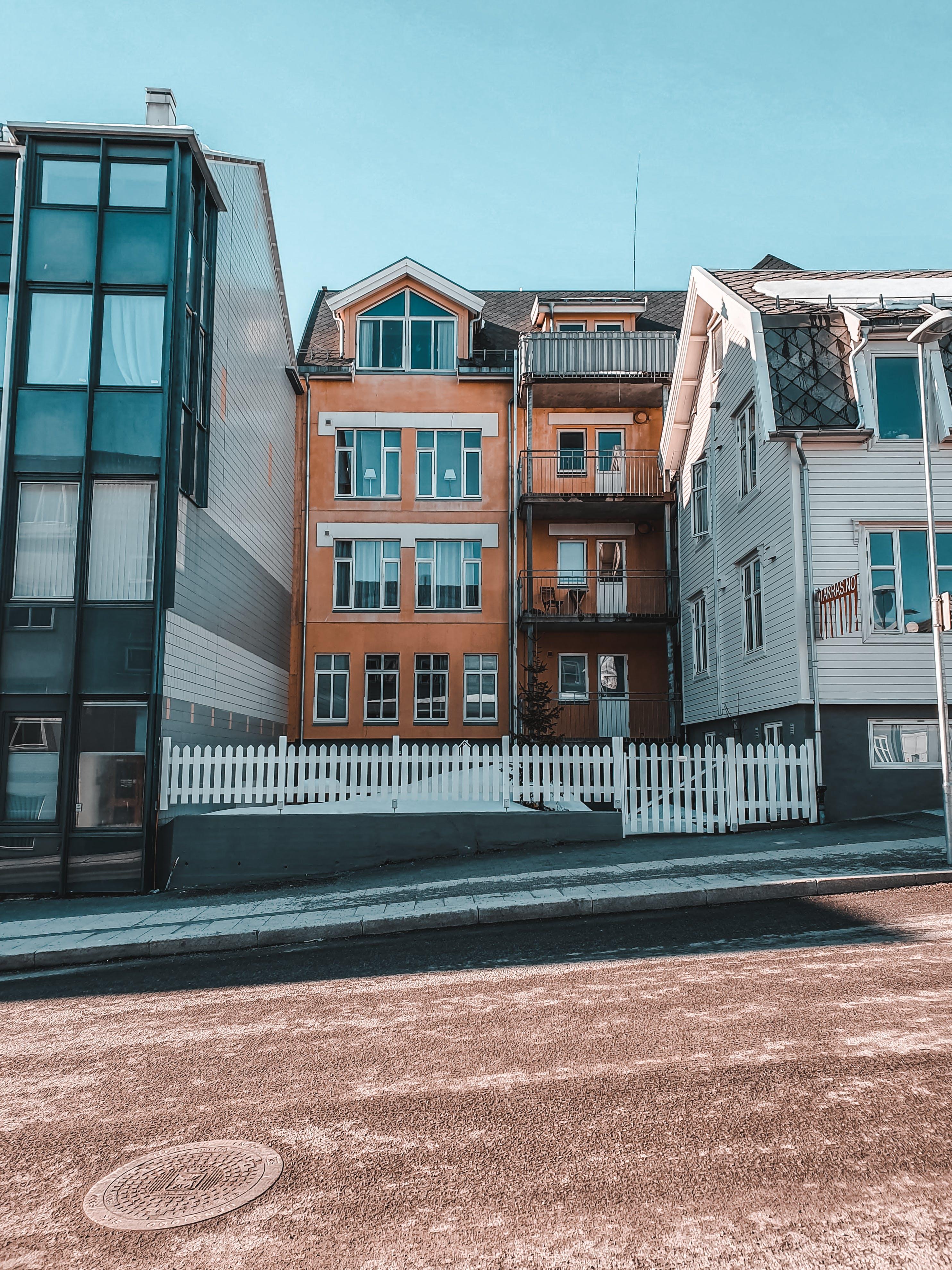 Photos gratuites de architecture, asphalte, bâtiments, chez-soi