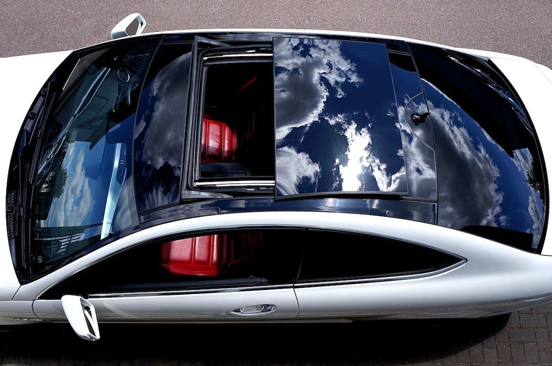 c63 amg coupe, mercedes-benz, γυάλινη οροφή