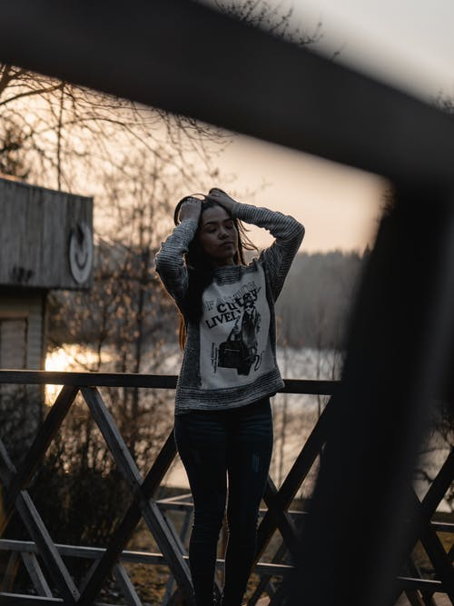 ファッション, フェンス, モデル, 人の無料の写真素材