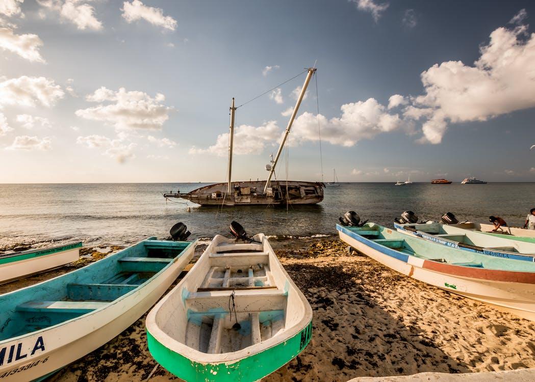 csónakázás, hajóm csónak, óceán
