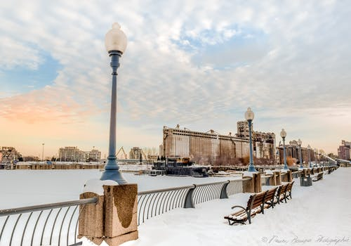 Ilmainen kuvapankkikuva tunnisteilla Montreal, talvi, talvimaisema