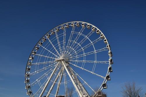 Ilmainen kuvapankkikuva tunnisteilla huvipuistoalue, karnevaali, korkea, kuva alakulmasta