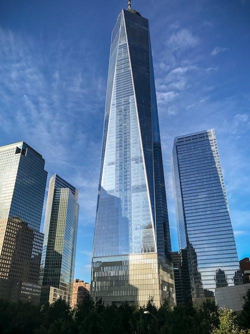 Free stock photo of ground zero, lower manhattan, one world trade center, skyscraper