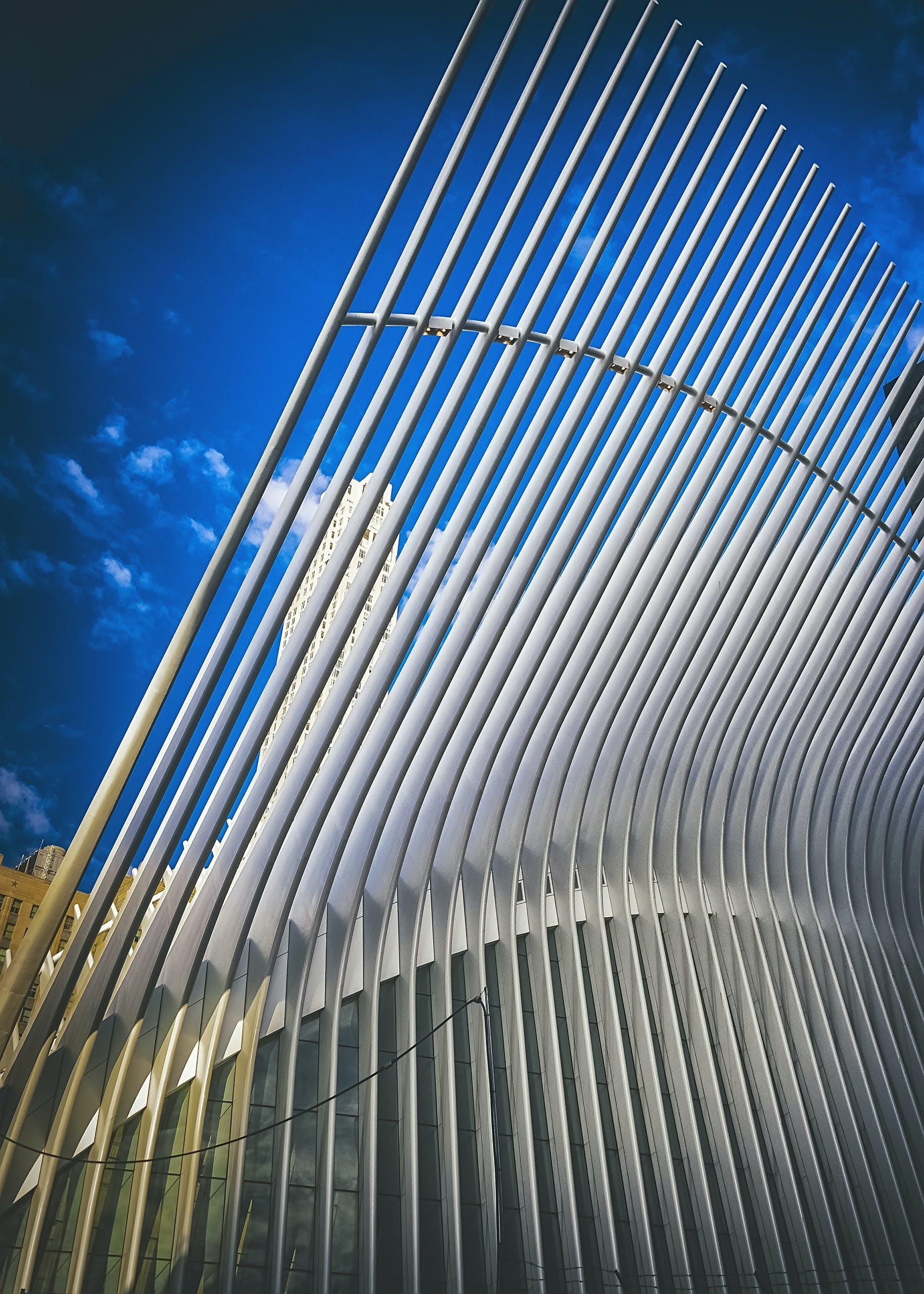 オクルス, オクルスの建物, ローワーマンハッタン, 交通ハブの無料の写真素材