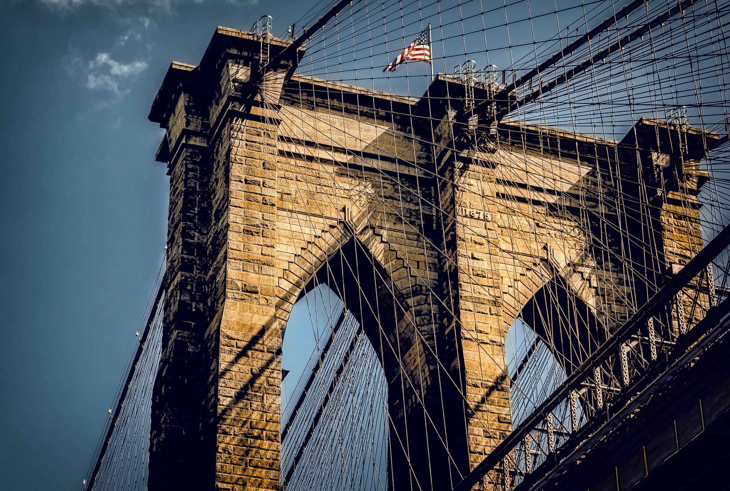 タワーブリッジ, ニューヨーク市, ニューヨーク市の壁紙, ブルックリンブリッジの無料の写真素材