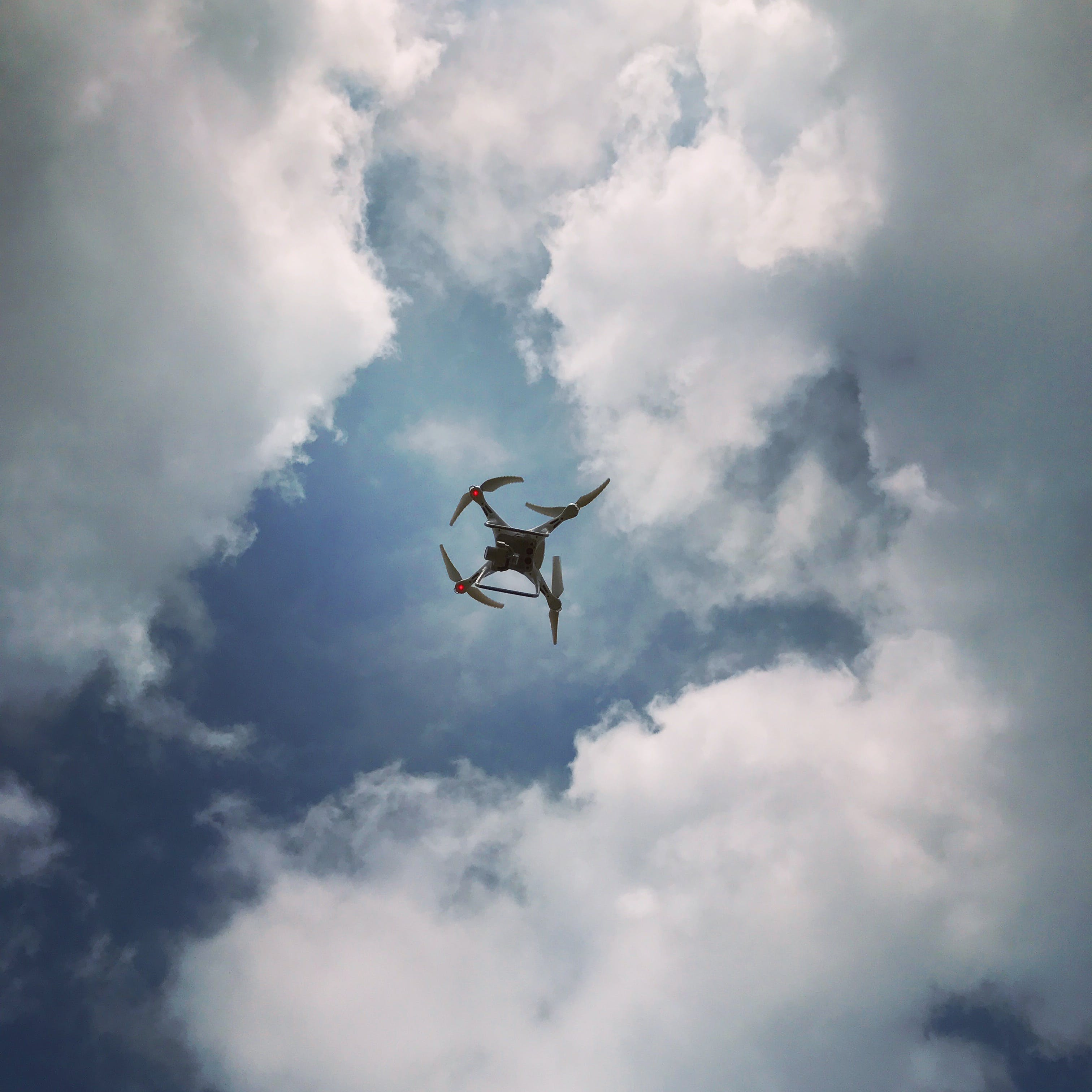 Photo of Drone Under Cloudy Sky