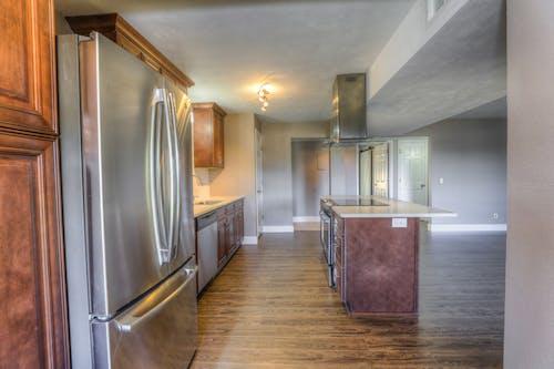 Free stock photo of interior design, kitchen, kitchen appliance, kitchen counter