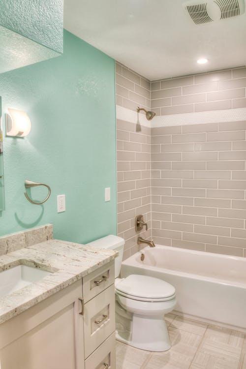 bad, badkamer, badkuip