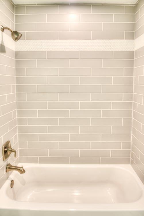 bath, bathroom, bathtub