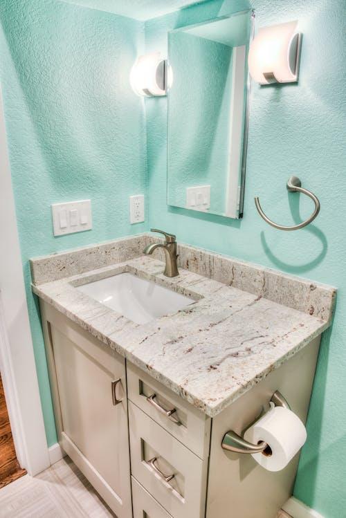 Free stock photo of bath, bathroom, cabinet, faucet