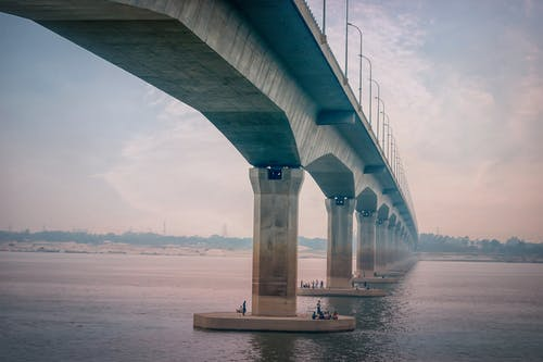 Бесплатное стоковое фото с архитектура, бангладеша, достопримечательность, мост