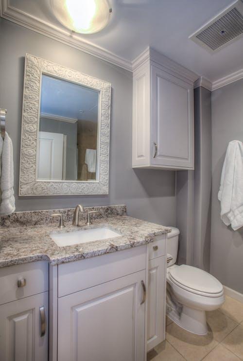 Free stock photo of bath, bath towels, bathroom, cabinet