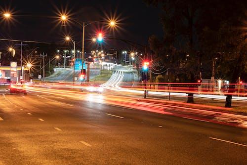 Free stock photo of city lights, light photography, night, night city