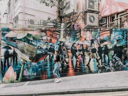 Photos gratuites de art, art mural, art urbain, artistique