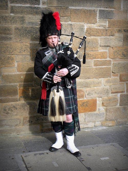 Gratis stockfoto met doedelzakken, doedelzakspeler, Edinburgh, Schotland