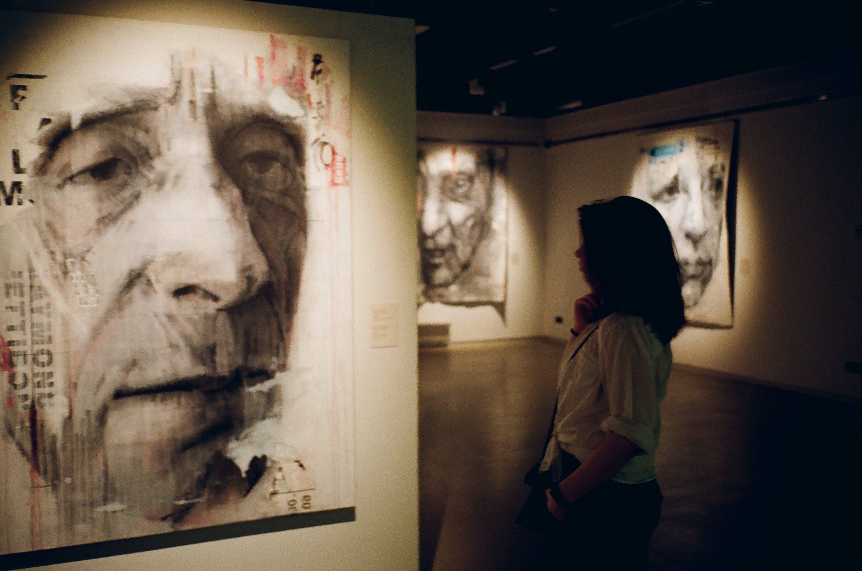 ansigtsudtryk, artwork, billeder