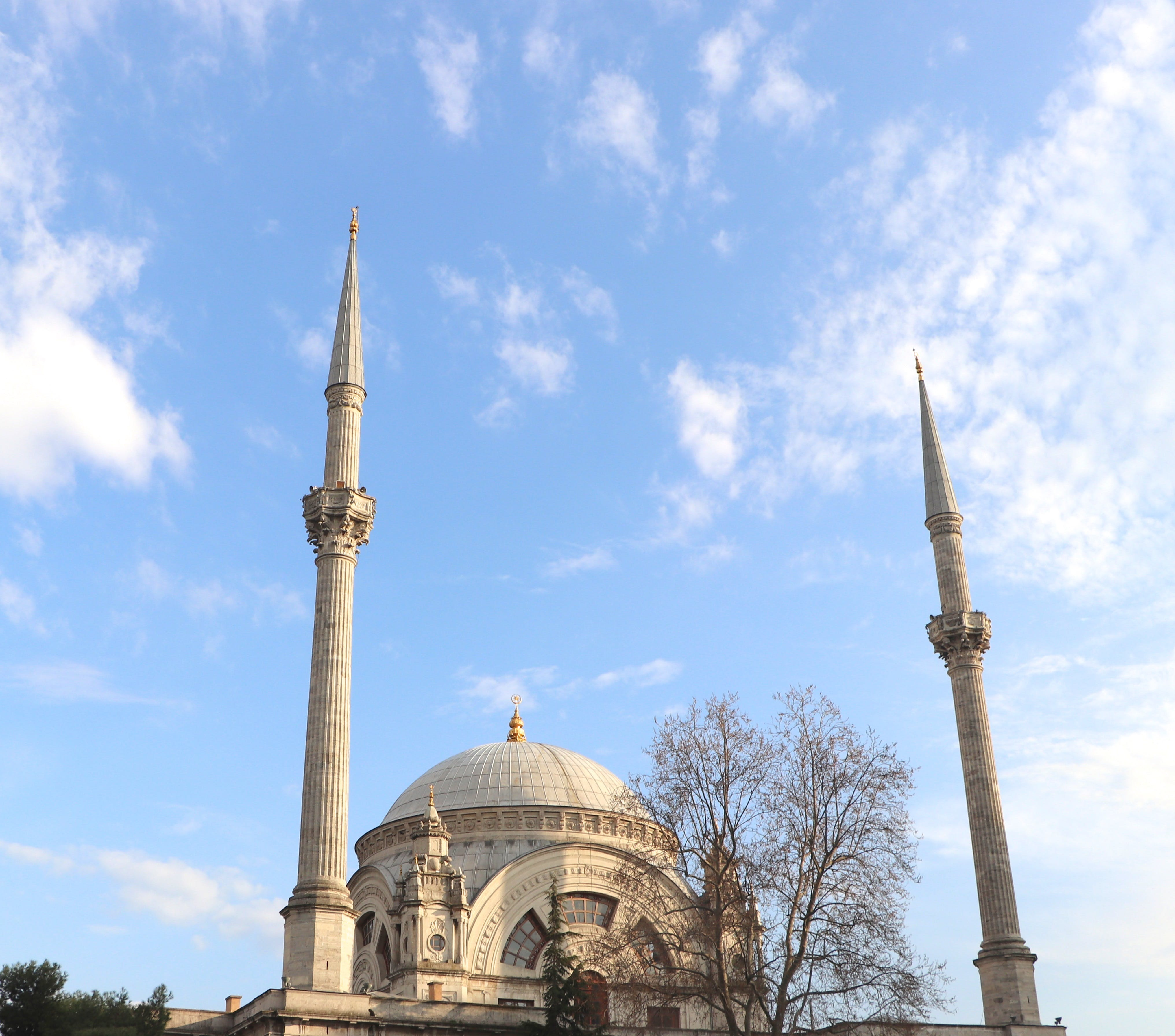 Free stock photo of a mosque, architecture, blue, cloud